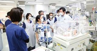 小児呼吸器疾患診療を牽引東医療センター新生児科